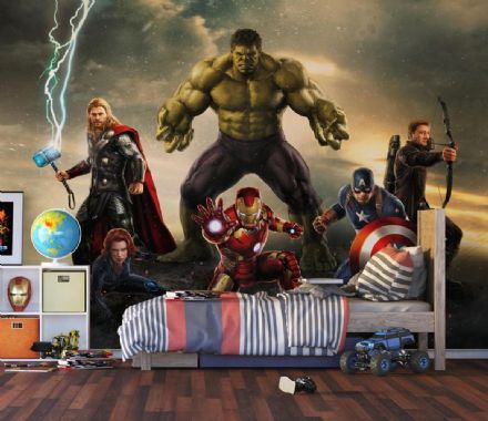 Marvel Avengers Premium wallpaper mural